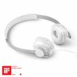 ΑΚΟΥΣΤΙΚΑ ACME MOON Light headphones + mic and remote control / White