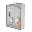 ΑΚΟΥΣΤΙΚΑ ACME MOON Light headphones + mic and remote control / White