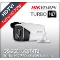HIKVISION DS-2CE16C0T-IT3 TURBO HD κάμερα HDTVI 720p EXIR 2.8mm