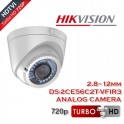 HIKVISION DS-2CE56C2T-VFIR3 TURBO HD Varifocal Dome κάμερα HDTVI 720p 2.8-12mm