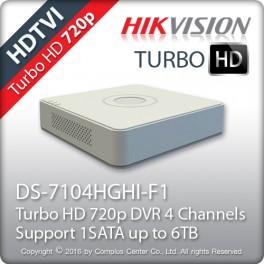 HIKVISION DS-7104HGHI-F1 Καταγραφικό 4 καναλιών HD-TVI
