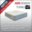 HIKVISION DS-7108HGHI-F1 Turbo HD 3.0 Καταγραφικό 8 καναλιών HDTVI 720p