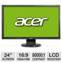 "Acer V243H 24"" Widescreen LCD Monitor"