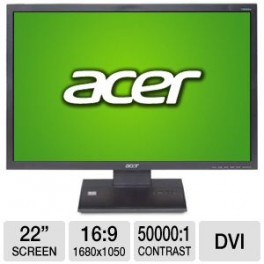 """Acer V223W 22"""" Widescreen LCD"""
