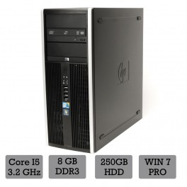 HP Compaq 8100 Elite I5-650/ 8GB RAM / 500GB HDD