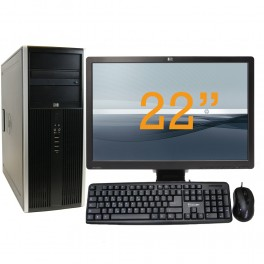 Hp Compaq 8100 Desktop Set