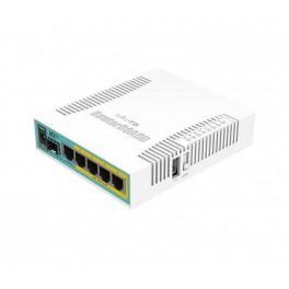 HEX POE RB960PGS, 5 GIGABIT, 1 SFP, POE